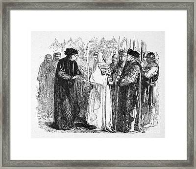Shakespeare: Henry Vi Framed Print by Granger