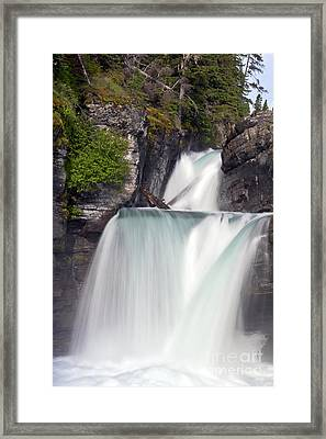 St Marys Falls Framed Print by Scotts Scapes