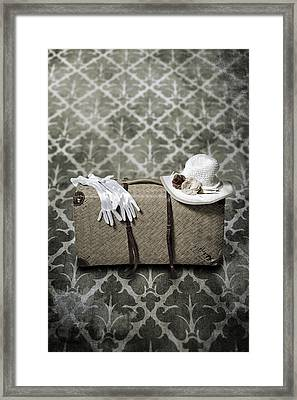 Suitcase Framed Print by Joana Kruse