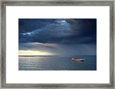 Sunderland, Tyne And Wear, England Framed Print by John Short