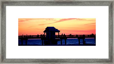 Sunset Framed Print by Shweta Singh