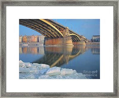 The Bridge Framed Print by Odon Czintos