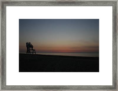 The Dreamer Framed Print by Valia Bradshaw