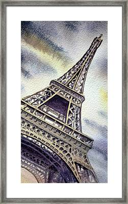 The Eiffel Tower  Framed Print by Irina Sztukowski