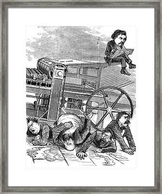 Thomas Nast (1840-1902) Framed Print by Granger