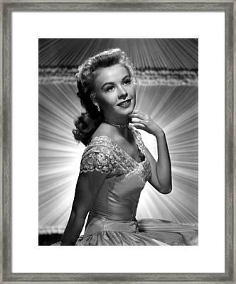 Vera-ellen, Ca. Early 1950s Framed Print by Everett