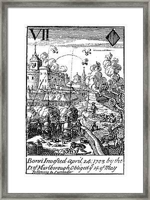 War Of Spanish Succession Framed Print by Granger
