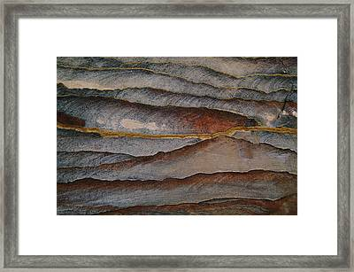 Waves Of Color, Ranging From A Pale Framed Print by Annie Griffiths
