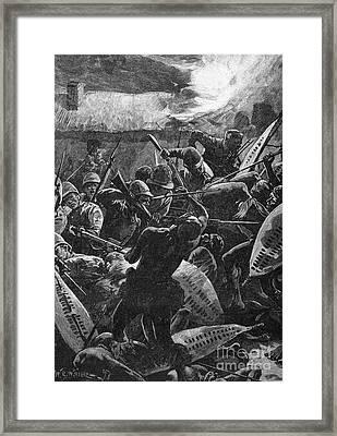 Zulu War, 1879 Framed Print by Granger