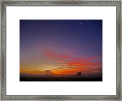 337 North Framed Print by Juergen Weiss