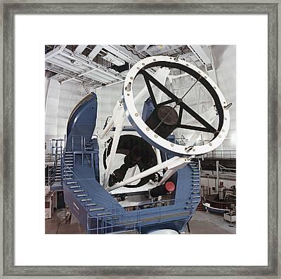 3.5-metre Optical Telescope Framed Print by Eckhard Slawik
