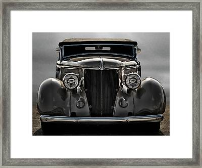 '36 Ford Convertible Coupe Framed Print by Douglas Pittman