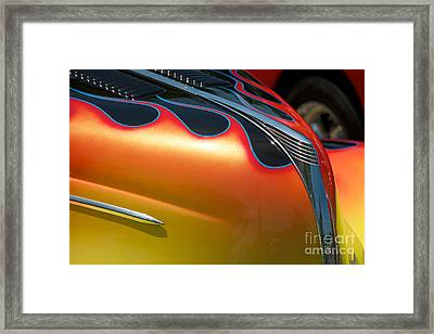 39 Ford Deluxe Hot Rod 1 Framed Print by Mark Dodd