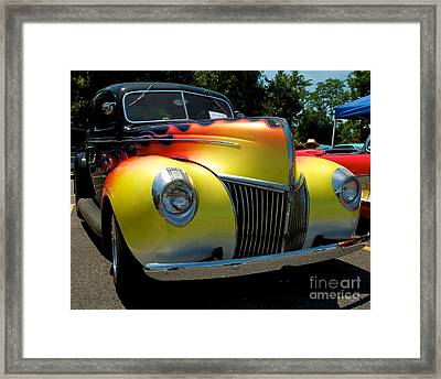 39 Ford Deluxe Hot Rod Framed Print by Mark Dodd