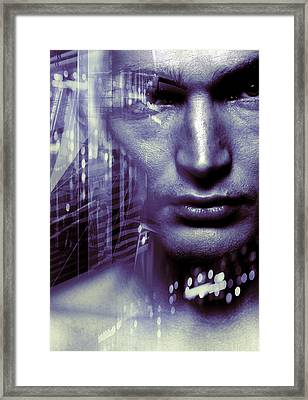 Artificial Intelligence Framed Print by Coneyl Jay