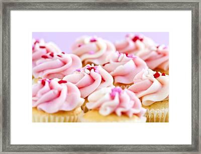 Cupcakes Framed Print by Elena Elisseeva