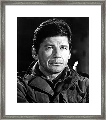 4 For Texas, Charles Bronson, 1964 Framed Print by Everett