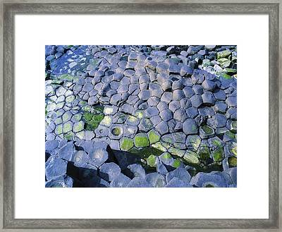 Giants Causeway, Co Antrim, Ireland Framed Print by The Irish Image Collection