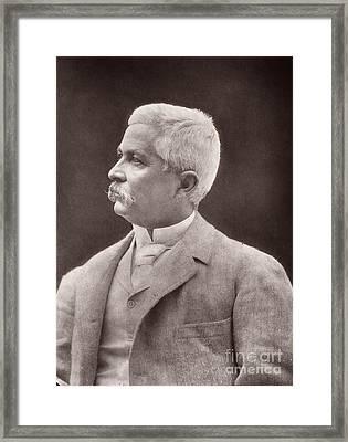 Henry Morton Stanley Framed Print by Granger