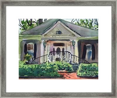 Hiram Butler House Framed Print by Donald Maier