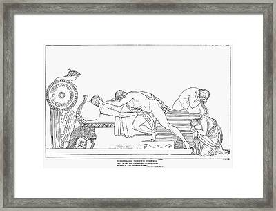 Homer: The Iliad Framed Print by Granger