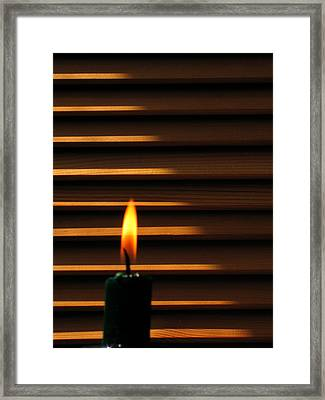 Light Framed Print by Odon Czintos