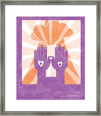 Love Framed Print by HD Connelly
