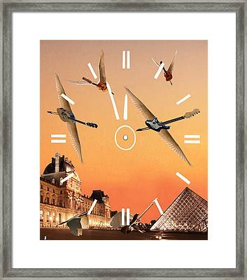 4 Minutes To Rock Framed Print by Eric Kempson