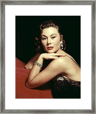 Mitzi Gaynor, Ca. Early 1950s Framed Print by Everett