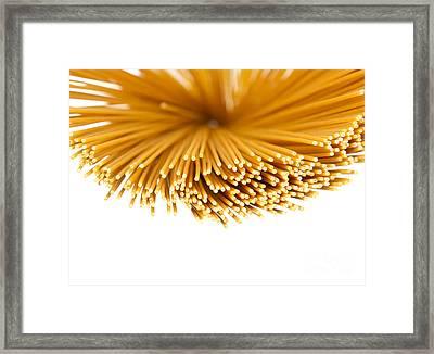 Pasta Framed Print by Blink Images