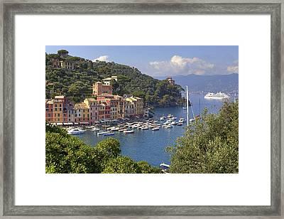 Portofino Framed Print by Joana Kruse