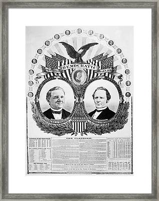 Presidential Campaign, 1876 Framed Print by Granger