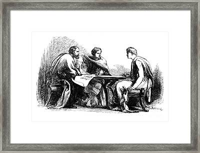 Shakespeare: Julius Caesar Framed Print by Granger