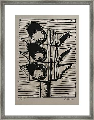Signal Framed Print by William Cauthern