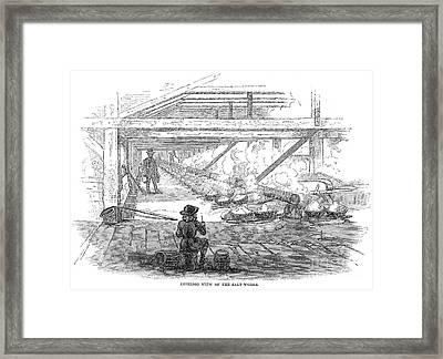 Slave Labor, 1857 Framed Print by Granger