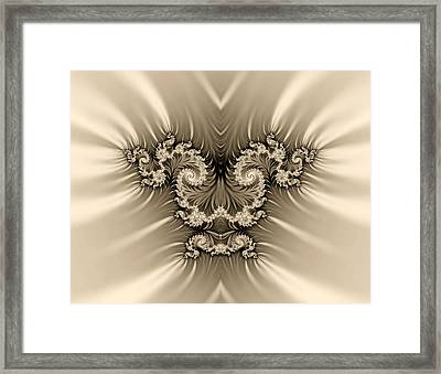 The Magic Background Framed Print by Odon Czintos