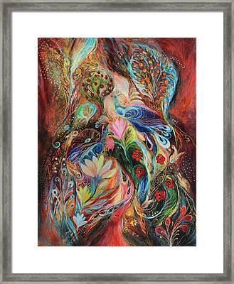 The Magic Garden Framed Print by Elena Kotliarker