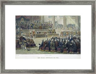 French Revolution, 1789 Framed Print by Granger