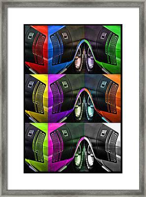 440 Cuda Billboard Pop Framed Print by Gordon Dean II