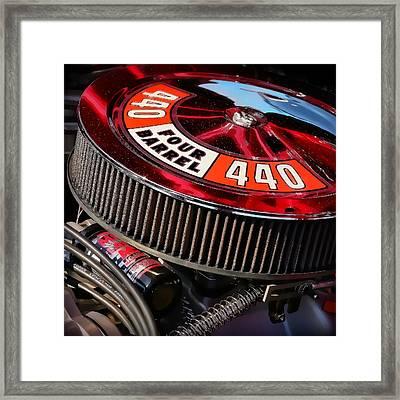 440 Four Barrel Framed Print by Ryan Dean