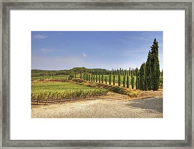 Tuscany Framed Print by Joana Kruse