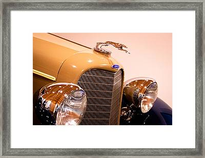 1934 Lincoln Kb V-12 Dietrich Framed Print by David Patterson