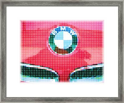 B M W Framed Print by Susan Carella