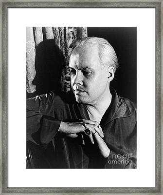Carl Van Vechten (1880-1964) Framed Print by Granger