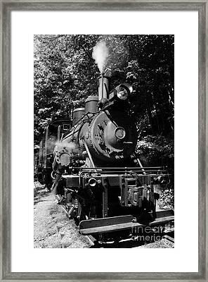 Climax Geared Locomotive Framed Print by Thomas R Fletcher