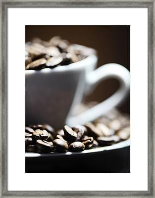 Coffee Cup Framed Print by Falko Follert
