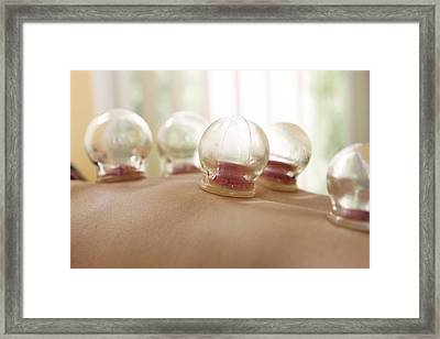Cupping Framed Print by Adam Gault