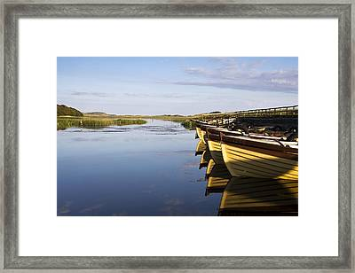 Dunfanaghy, County Donegal, Ireland Framed Print by Peter McCabe