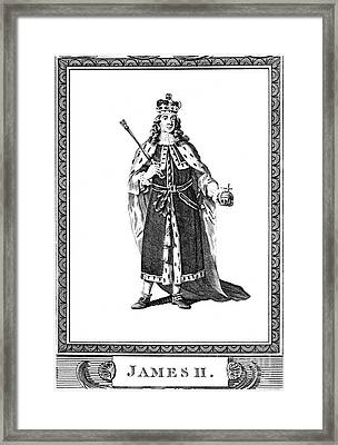 James II (1633-1701) Framed Print by Granger