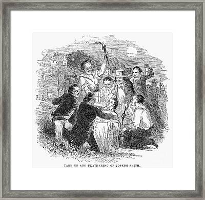 Joseph Smith (1805-1844) Framed Print by Granger